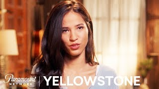 Kelsey Asbille on Monica  Kayces Explosive Relationship  In Depth Look  Yellowstone