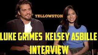 Luke Grimes  Kelsey Asbille Interview  Yellowstone Season 2