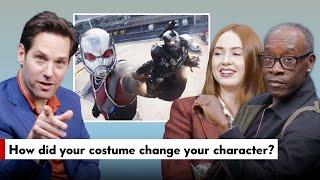 Avengers Endgame Cast Answers Fan Questions Paul Rudd Don Cheadle Karen Gillan