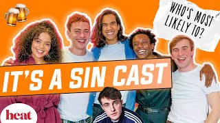 Im the ugly version of Paul Mescal Its A Sin cast play Whos Most Likely To