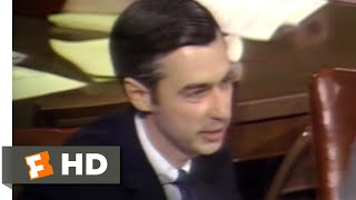 Wont You Be My Neighbor 2018  Mister Rogers Saves PBS Scene 210  Movieclips