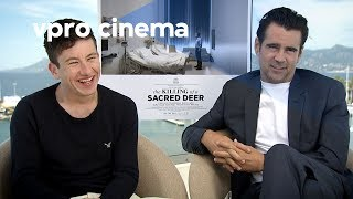 Colin Farrell and Barry Keoghan on The Killing of a Sacred Deer