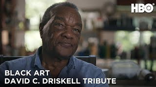 Black Art In the Absence of Light 2021  David C Driskell Tribute  HBO