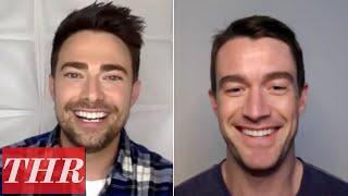 The Christmas House Cast Robert Buckley and Jonathan Bennett  THR Interview