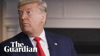No way to talk Donald Trump walks out of 60 Minutes interview