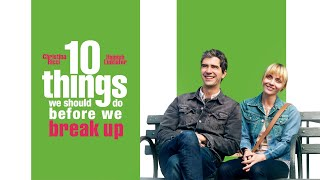 10 Things We Should Do Before We Break Up  UK Trailer 2020  Starring Christina Ricci