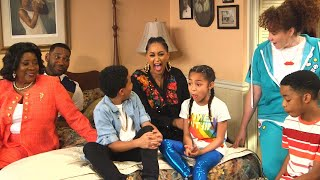 Family Reunion Set Tour With Tia Mowry  and a Few SURPRISE Guests Exclusive