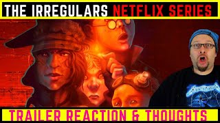 The Irregulars Official NetflixTeaser Trailer Reaction  Thoughts
