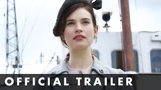 THE GUERNSEY LITERARY POTATO PEEL PIE SOCIETY Official Trailer Starring Lily James