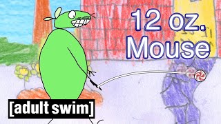 12 oz Mouse  YoYo Tricks  Adult swim UK