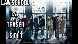 law schoolkdrama trailer 2021starring KimbumRyU hyeyoungKim myungminlee Jungeun