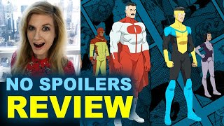 Invincible REVIEW  2021 Amazon Episode 1 thru 3  NO SPOILERS