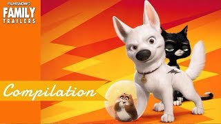 BOLT All Clip and Trailer Compilation for Disney Family Animated Movie