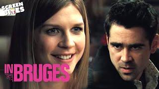 Colin Farrell Clmence Posy dinner scene In Bruges SceneScreen