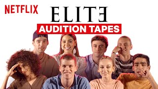 The Cast of Elite Reacts to Audition Tapes  Netflix