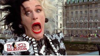 102 Dalmatians 615 Movie Scenes  Ella Cruella is BACK 2000 HD