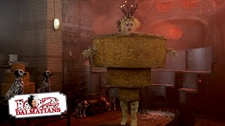 102 Dalmatians 1515 Movie Scenes  Oddball defeats Cruella 2000 HD