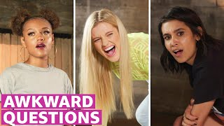 Awkward Questions With The Wilds Cast Prime Video