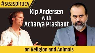 Acharya Prashant interviewed by Kip Andersen Seaspiracy Religion and animals
