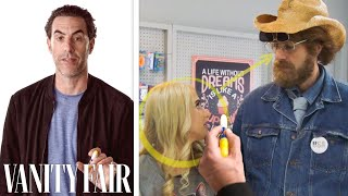 Sacha Baron Cohen Breaks Down Borat Subsequent Moviefilms Cake Scene Vanity Fair