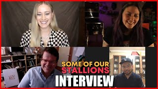 INTERVIEW Olivia Taylor Dudley Carson Mell Al Di Some Of Our Stallions