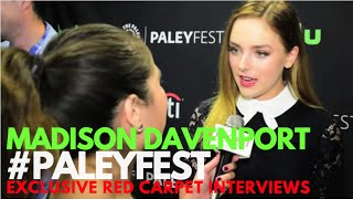 Madison Davenport interviewed at PaleyFest Fall Preview for From Dusk Till Dawn PaleyFest