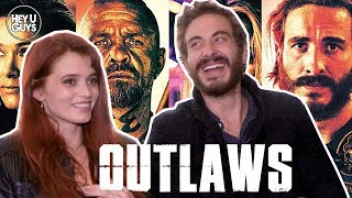Abbey Lee  Ryan Corr Interview  Outlaws 1