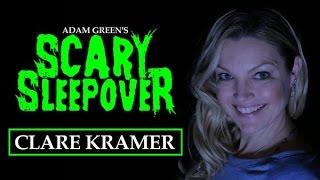 Adam Greens SCARY SLEEPOVER  Episode 211 Clare Kramer