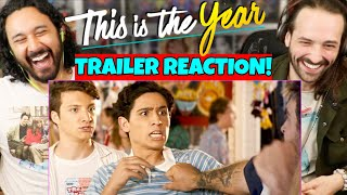 THIS IS THE YEAR Official TRAILER REACTION Selena Gomez Gregg Sulkin David Henrie