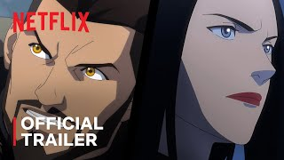 The Witcher Nightmare of the Wolf Anime Trailer Netflix