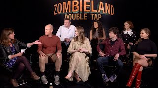 ZOMBIELAND DOUBLE TAP Cast and Director QA with IGN