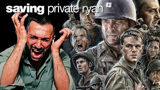 SAVING PRIVATE RYAN 1998 MOVIE REACTION FIRST TIME WATCHING
