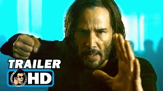 THE MATRIX 4 RESURRECTIONS Teaser Trailer 2 2021