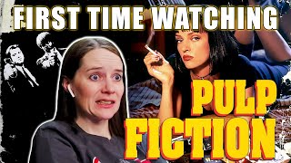 FIRST TIME WATCHING  Pulp Fiction 1994  Movie Reaction  Super Awesome Fun Time