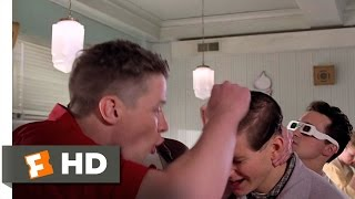 Back to the Future 410 Movie CLIP Youre George McFly 1985 HD