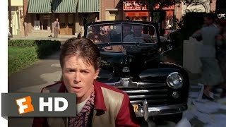 Back to the Future 710 Movie CLIP Skateboard Chase 1985 HD