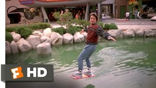 Back to the Future Part 2 312 Movie CLIP Hover Board Chase 1989 HD
