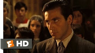 The Baptism Murders The Godfather 89 Movie CLIP 1972 HD