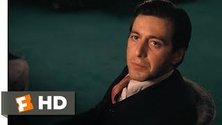 Dont Ever Take Sides Against the Family The Godfather 79 Movie CLIP 1972 HD