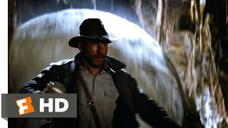 Raiders of the Lost Ark 110 Movie CLIP The Boulder Chase 1981 HD