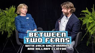 Hillary Clinton Between Two Ferns With Zach Galifianakis