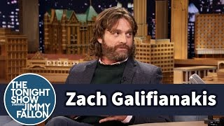 Zach Galifianakis Hates Red Carpets Loves Blowing Smoke