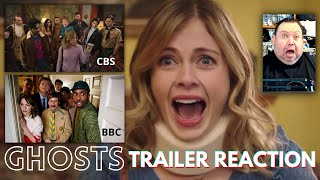 Ghosts CBS 2021 Trailer Vs Ghosts BBC 2019 REACTION