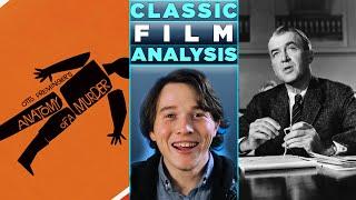 A Classic Cinema Analysis Anatomy of a Murder 1959 MUST SEE Masterpiece Stars James Stewart