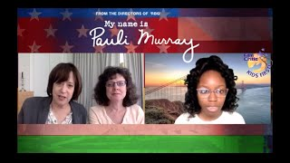 Ashleigh C interviews Julie Cohen and Betsy West writersdirectors My Name is Pauli Murray