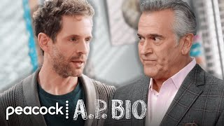 Bruce Campbell is Jacks Father Season 4 Clip AP Bio