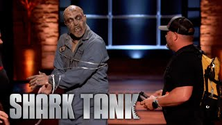 Shark Tank US Zombie Attacks During Rapid Rope Pitch
