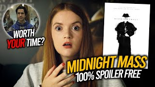 Midnight Mass 2021 Netflix Mike Flanagan Horror Series SPOILER FREE REVIEW Spookyastronauts