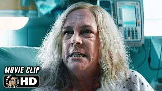 HALLOWEEN KILLS Clip Laurie Finds Out Michael Myers Is Alive 2021
