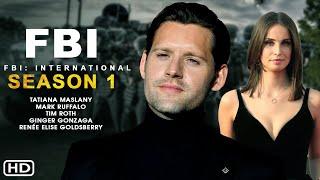 FBI International Season 1 Trailer 2021 CBS Release DateEpisode 1 Luke Kleintank Heida Reed